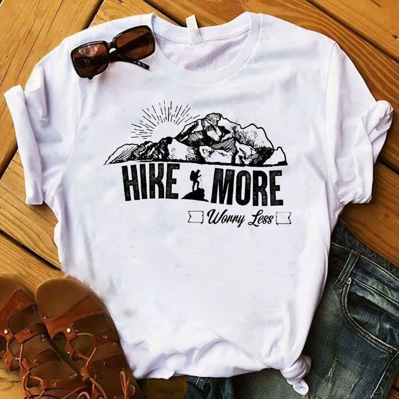 Женщины леди футболка кемпинг королева леопарда печатные футболки с коротким рукавом рубашка женские женщины женские топы одежда графическая футболка