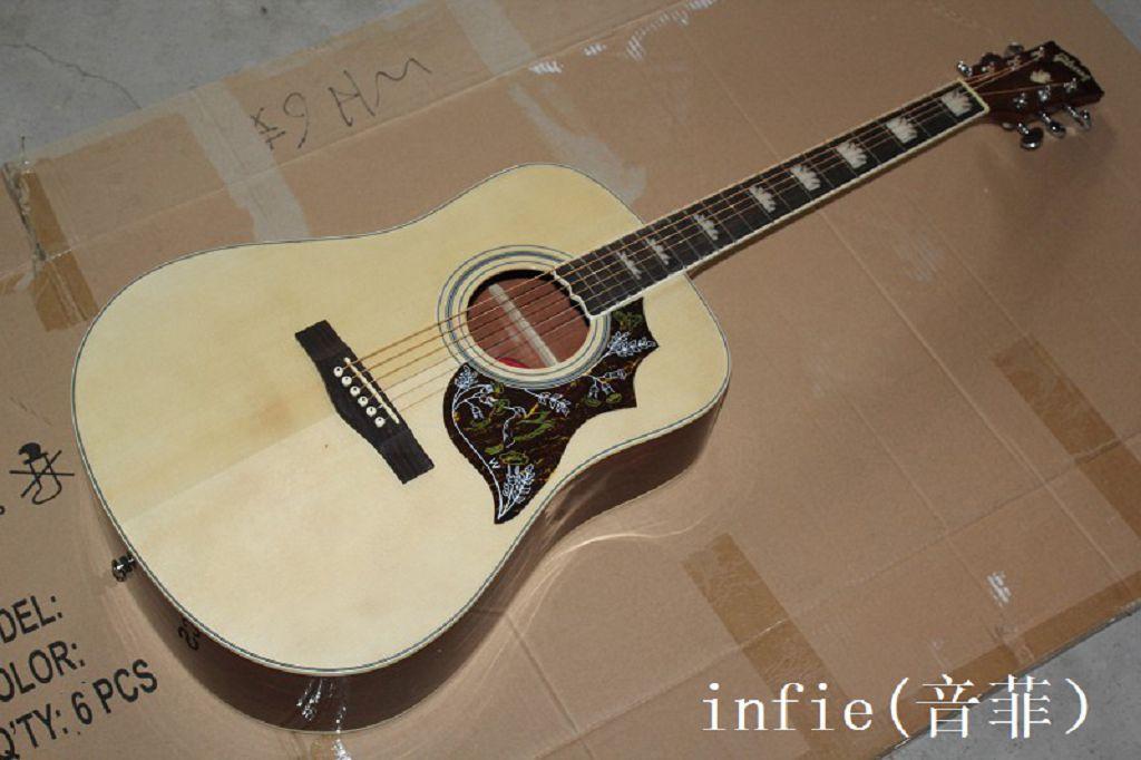 Spedizione gratuita New Hummingbird colomba 41 pollici chitarra acustica può aggiungere la chitarra di fishman