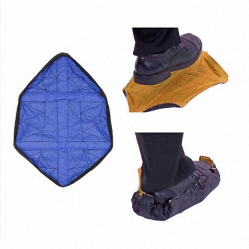 1 пар многоразовых бахилы Один Шага Рук свободного Носок Бахилы Прочный портативный Автоматические Органайзеры дом Пылезащитного Buju #