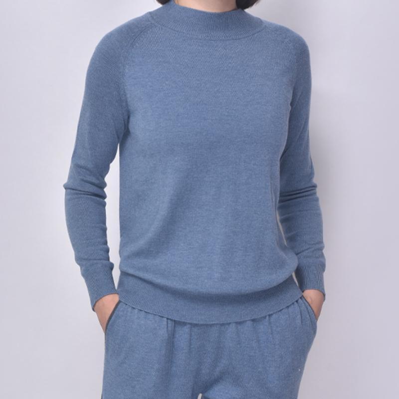 2021SS senhoras nova chegada loungewear corredor com drawsring cor contraste e handfeeling comfortble