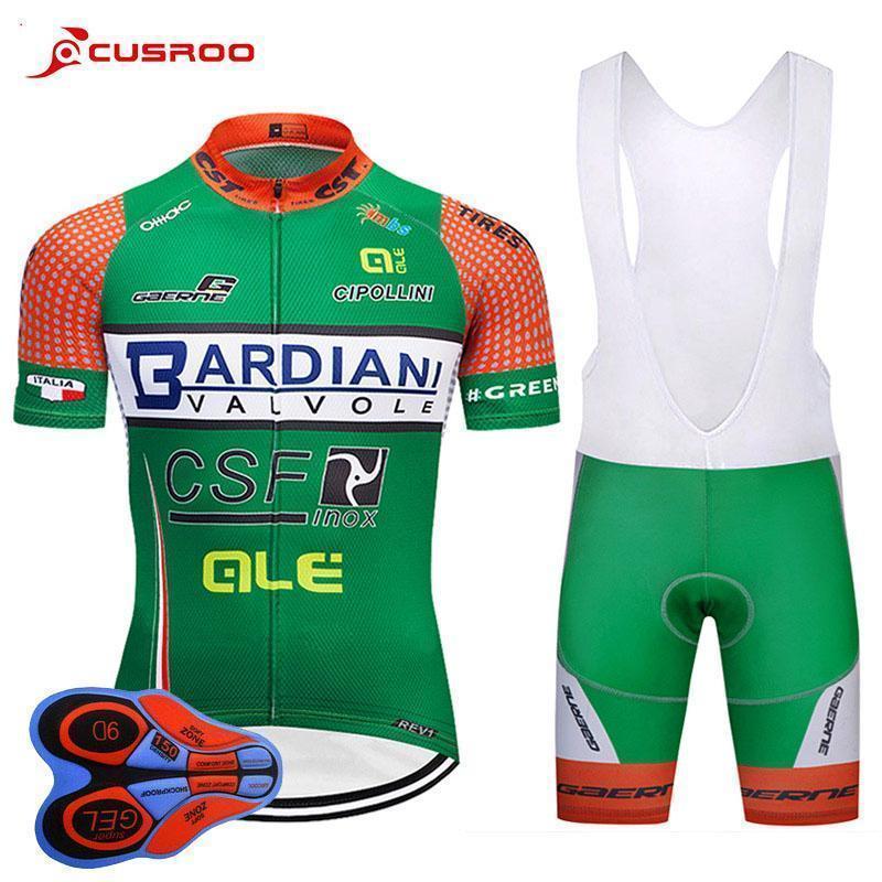 2020 Uci Pro Team Bardiani Csf Cycling Jersey 9 quinquies Gel Pad Bike i bicchierini di Mtb Mens Estate Ropa Ciclismo Ciclismo usura della bicicletta Maillot Culo