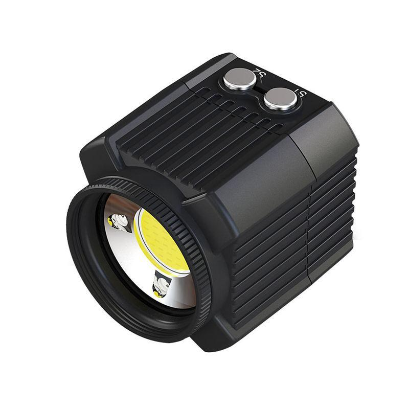 Underwater Camera Flash 60M Waterproof Diving Fill Light 2000Lm For Hero 7 6 5 Action Video Cameras Accessories
