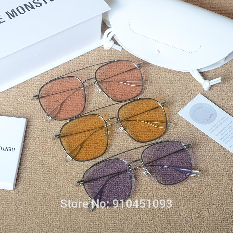 Мода негабаритные бабочки Vision Sun Thestes лягушка бренд очки зеркало нежные дизайнер ночные солнцезащитные очки Woogie женщин очки Uiarq