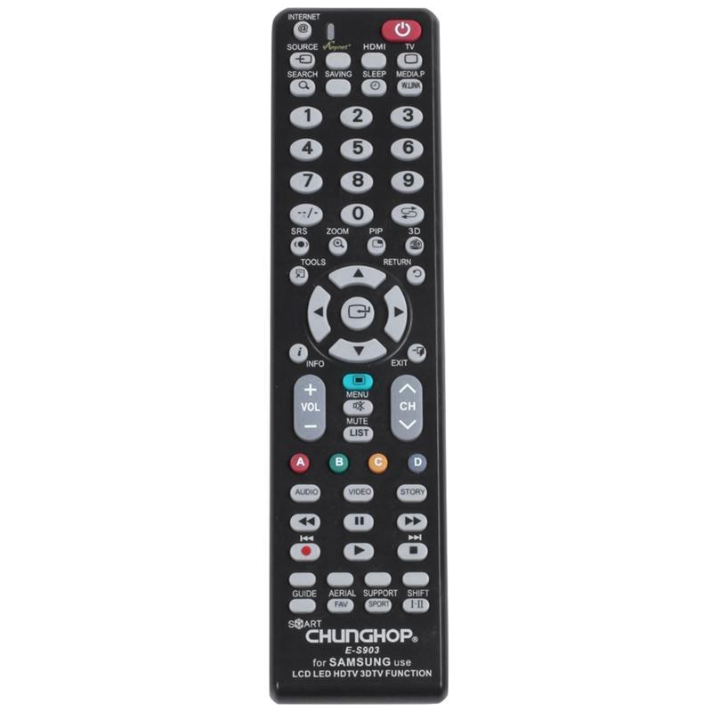 Chunghop Novo Universal Controle Remoto para LCD LED HDTV Controle Remoto Trabalhos no Leitor de Media Caixa de TV E-S903