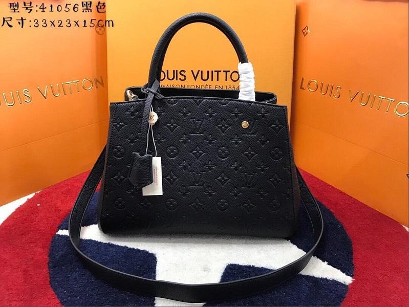 085LVLOUISVUITTON100% Genuine Leather Double Zipper Cosmetic Bag Handbag Women Wallet Michael Shoulder Bags Purse Bag Ha