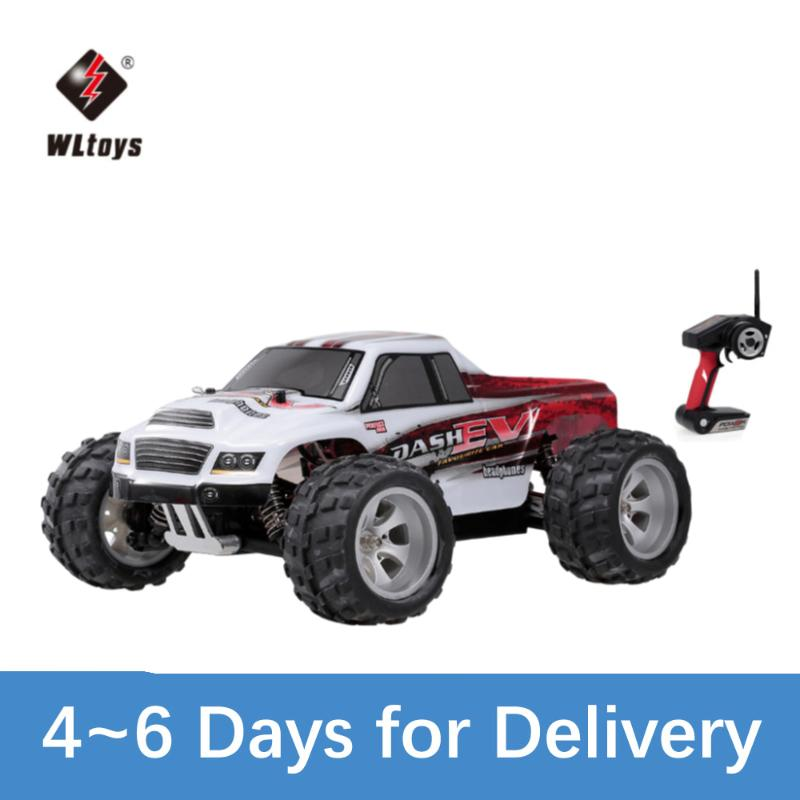 WLToys A979-B 2.4G 1/18 RC Auto 4WD 70 km / h Highspeed Elektrische Komplette Proportional Big Fuß TruckRemote Control Carrc Crawler RTR 201124