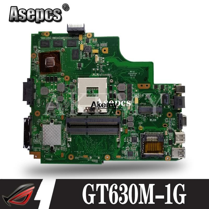 K43SM Motherboard GT630M-1G REV:3.0 For Asus A43S X43S K43SV K43SJ laptop Motherboard K43SM Mainboard