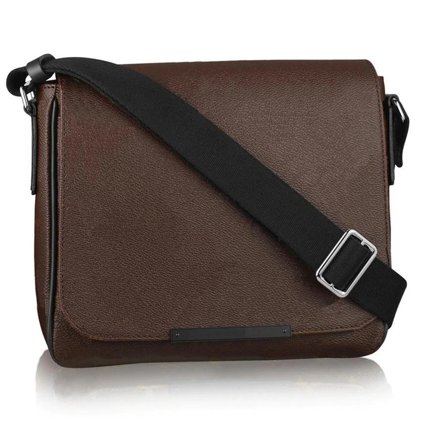 Borsa da portafoglio Messenger Crossbody 000-852 Borse Borse BAGS Crossbody in pelle FANNYPACK UOMO UOMO ZACK ZACK UOMINI Fashion Borse Borse HPQSP