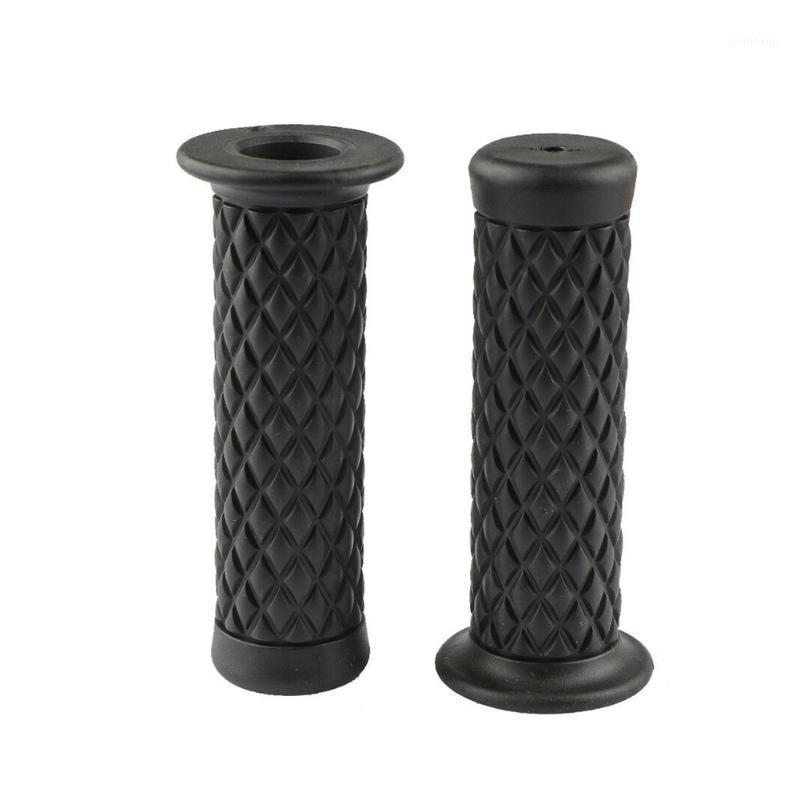 """1 Pair Hand Grip Soft 7/8"""" 22mm Solid Skid Resistance Modification Accessories Motorcycle Rubber Retro Dirt Bike1"""