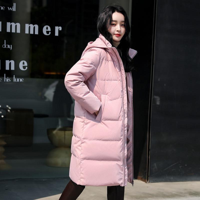 여성용 다운 파카 재킷 가을 겨울 코트 여성 후드 따뜻한 여성 코트 2021 Mujeres Abrigos X00140820 PPH1210