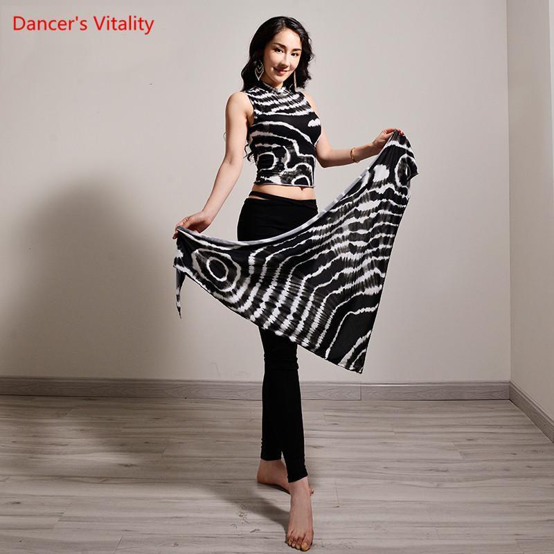 Danse du ventre Adulte femelle élégant Top + Hip Scarf + Pantalon pratique Vêtements 3 Piece Set Performance Profession __gVirt_NP_NN_NNPS<__ Costume Vêtements