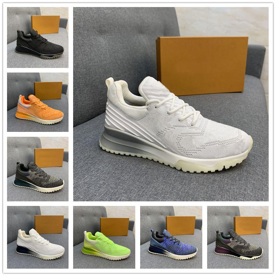 2021 Классический дизайн Runner Runner Sprats Бегите Мужчины Женщины Кроссовки Полный вязаный Градиент Обувь цельный Носок, как TR Легкие тренажеры VNR