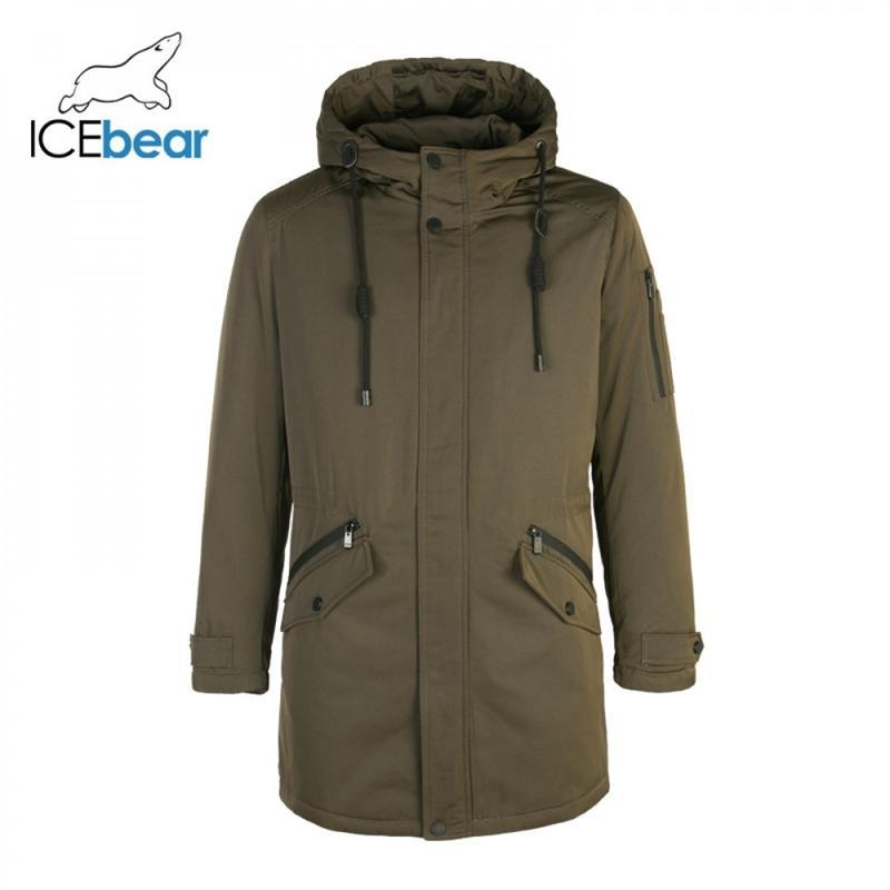Новое ледяное пальто Мужчины Зима Новый Длинный Куртка Мужчины Высокое Качество Теплые Пиджаки Пальто для мужчин Бренд Одежда MPN317946 201021