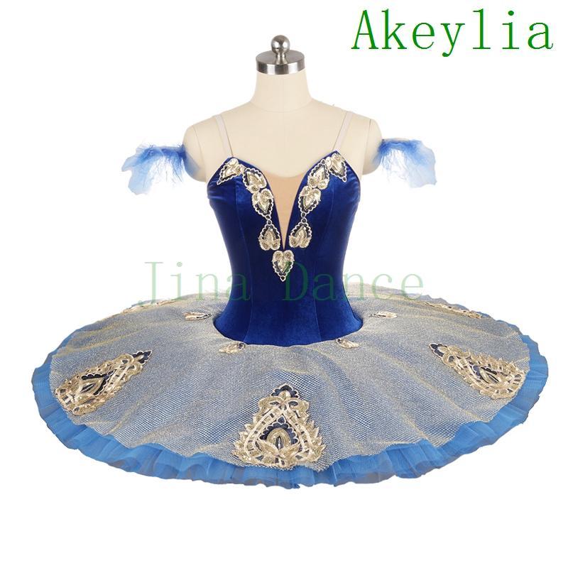 Azul marino azul ballet tutu tutu disfraces azul oscuro oro panqueque tutu gilrs ballet tutus profesional tutu cascanueces disfraces de ballet verde