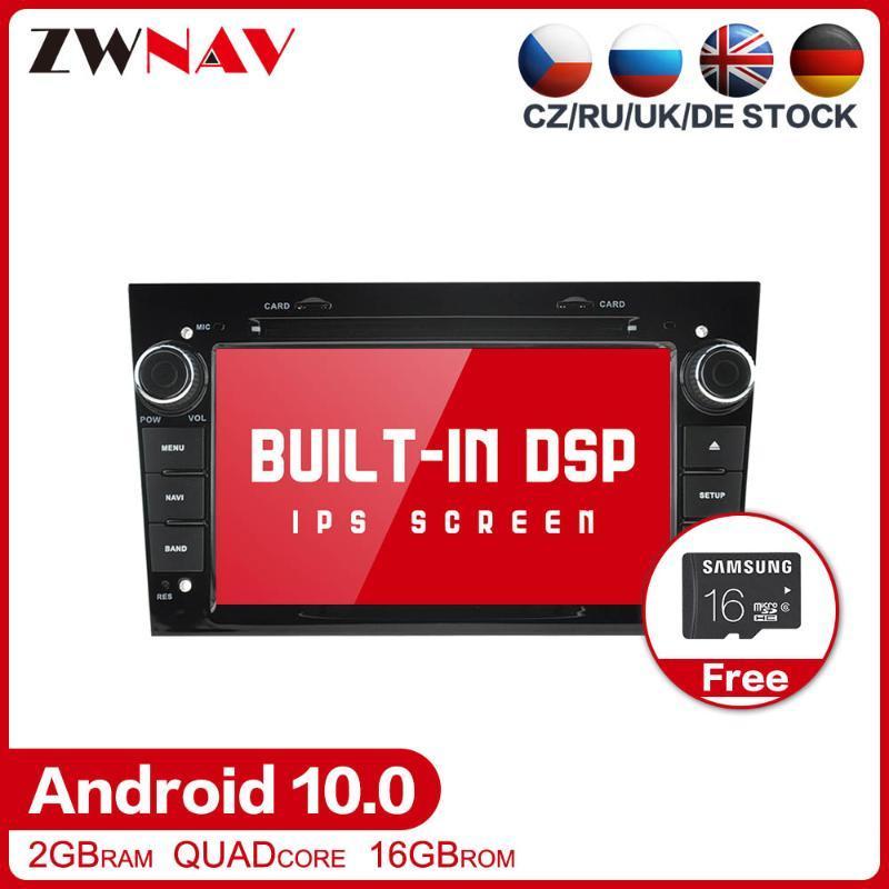 DSP Android 10.0 Auto Multimedia Radio Stereo per Vauxhall Astra H G J Vectra Antara Zafira Corsa Audio DVD Lettore DVD Auto DVD