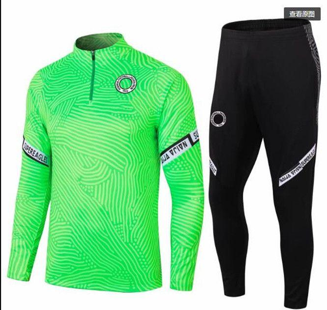 Nigerian Sport veste verte manches pleines 20 - 21 Pepe Nicolas Ceballos guindouzi sokratis Maitland - Niles Tierney 2020 - 2021