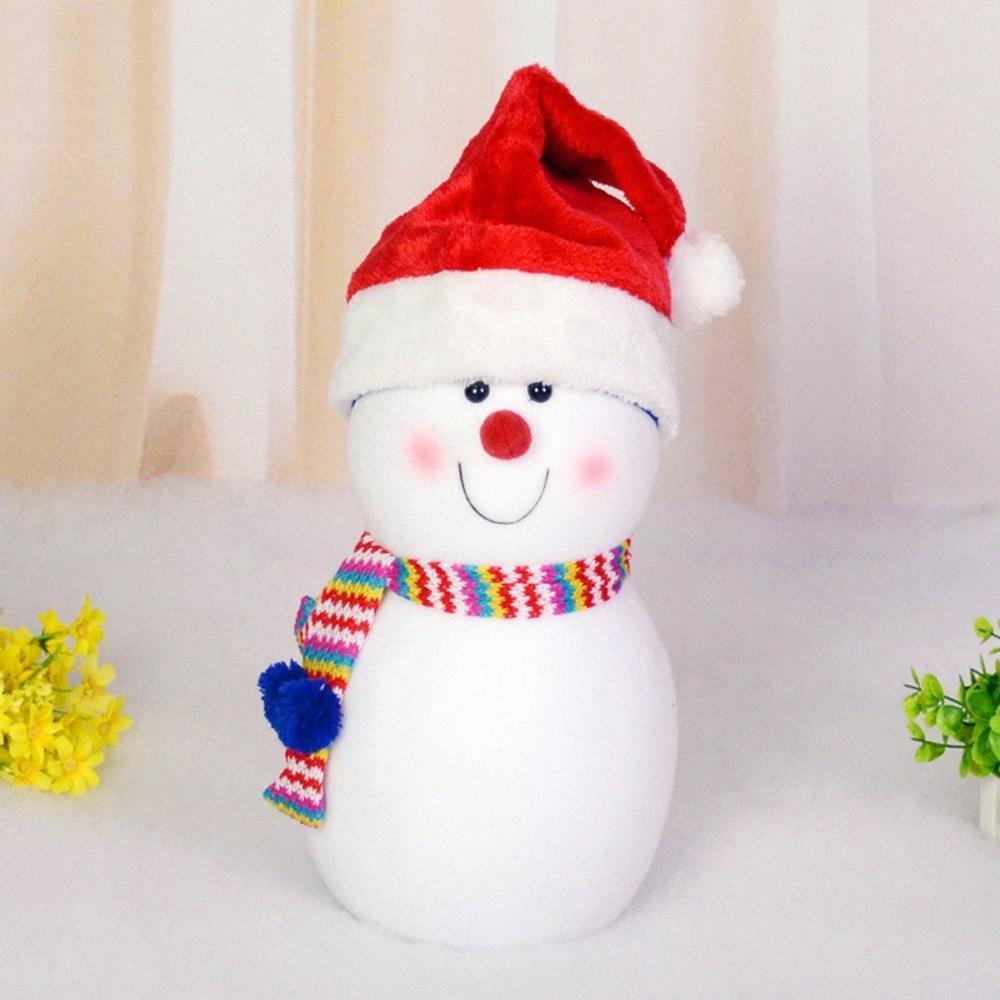 Xmas Chapéu de Papai Noel Natal para adultos Xmas Party Cap Crianças Ornamentos de Santa chapéus de festa de Natal Props Decoração O E9g1 de Natal #