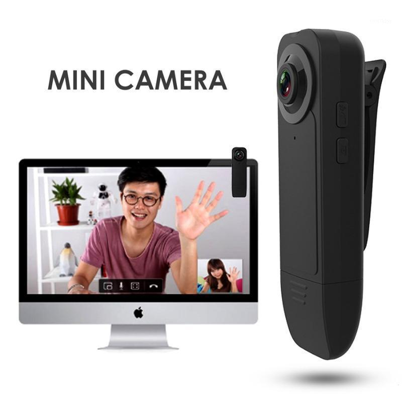 Mini Câmeras 2021 A18 Câmera com Bolso Clipe Portátil Suporte de Segurança TF Gravação de Vídeo Visão Noturna Snaps1