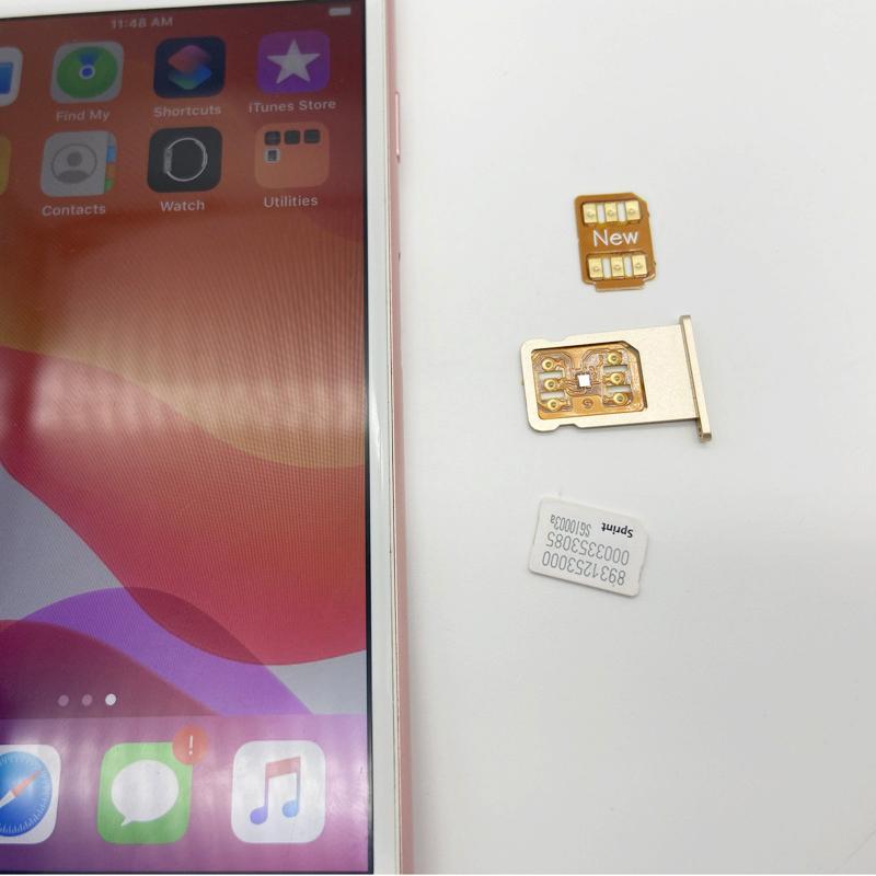 Gpplte 4g jobbar perfekt upplåsande SIM-kort för iPhone x 8 7 6s 6 5s plus iOS14 GPP Gevey Pro
