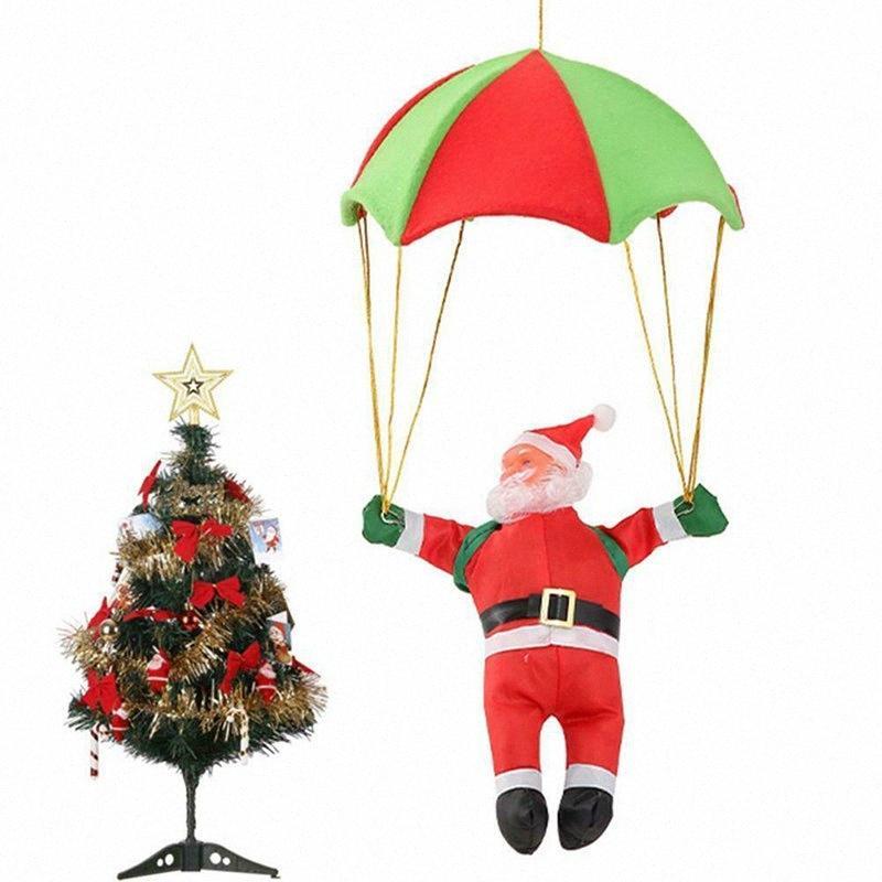 Suministros ornamento muñeca 1pc Santa Claus de Navidad colgante de puerta de Navidad decoración del árbol de los juguetes lindo regalo precioso de Navidad del partido rWit #