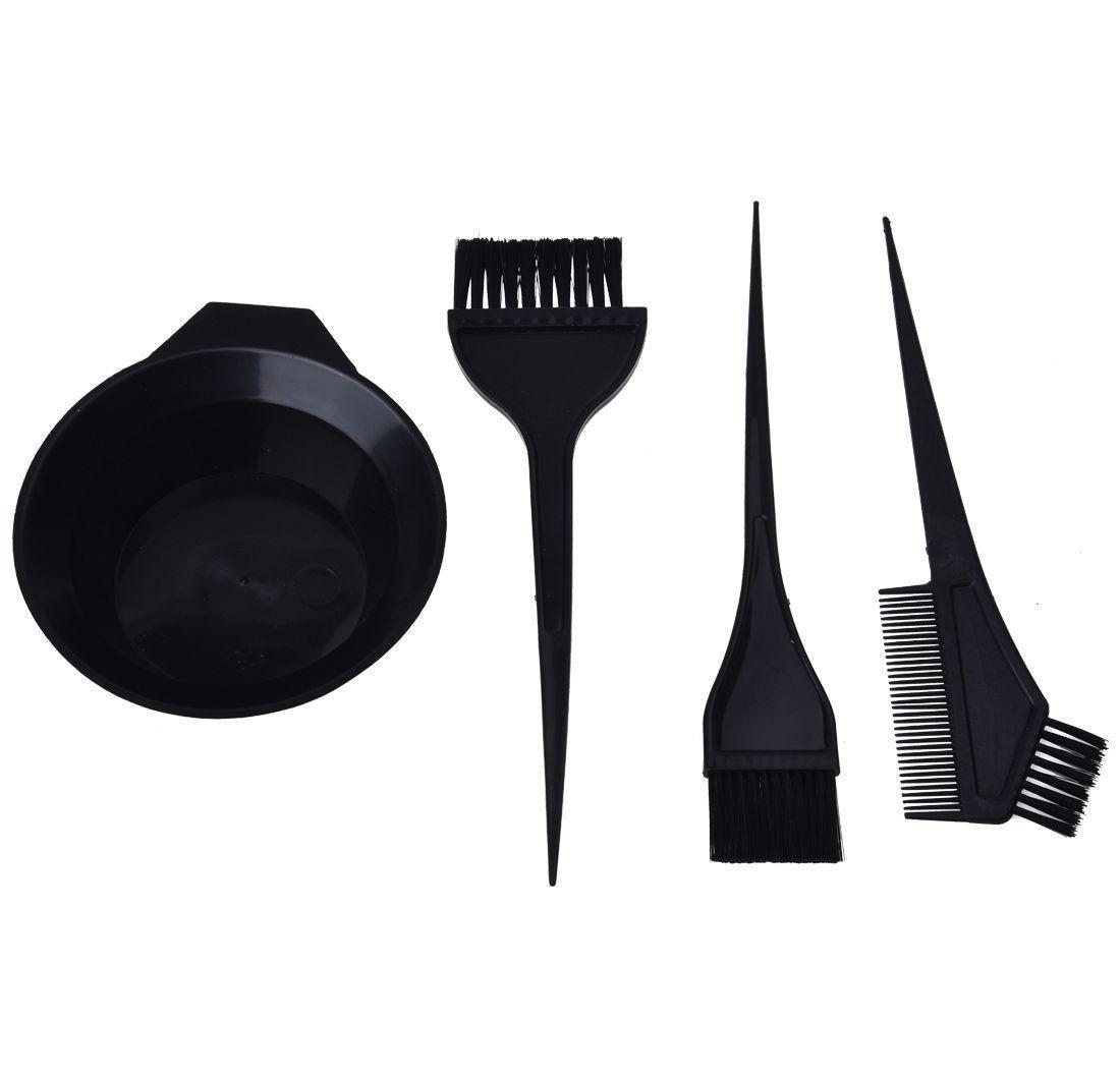 Kamm Werkzeug Farbe Set Tint Dye Shipping Kit Haarfreie Färbung Bowl Pinsels SQCPH Hairflipper2011