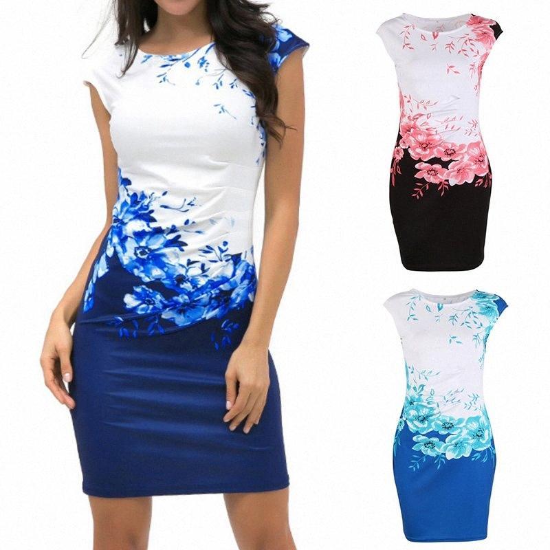 Лето 2019 Plus Размер Женщины Мини платье Новый вскользь с коротким рукавом платье Elegant женщин Тонкий Streetwear Урожай дамы Короткие платья Белый eDFJ #