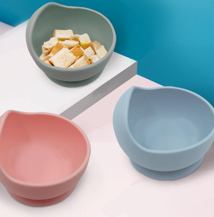 Детская силиконовая чаша ложка материнской младенческой кормления столовые приборы всасывающая чашка комплементарная еда шара капельница силиконовая чаша набор YL251