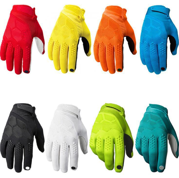 Nuevos guantes de carreras de carreras de carreras en caliente Guantes de bicicleta al aire libre Guantes de montar a caballo