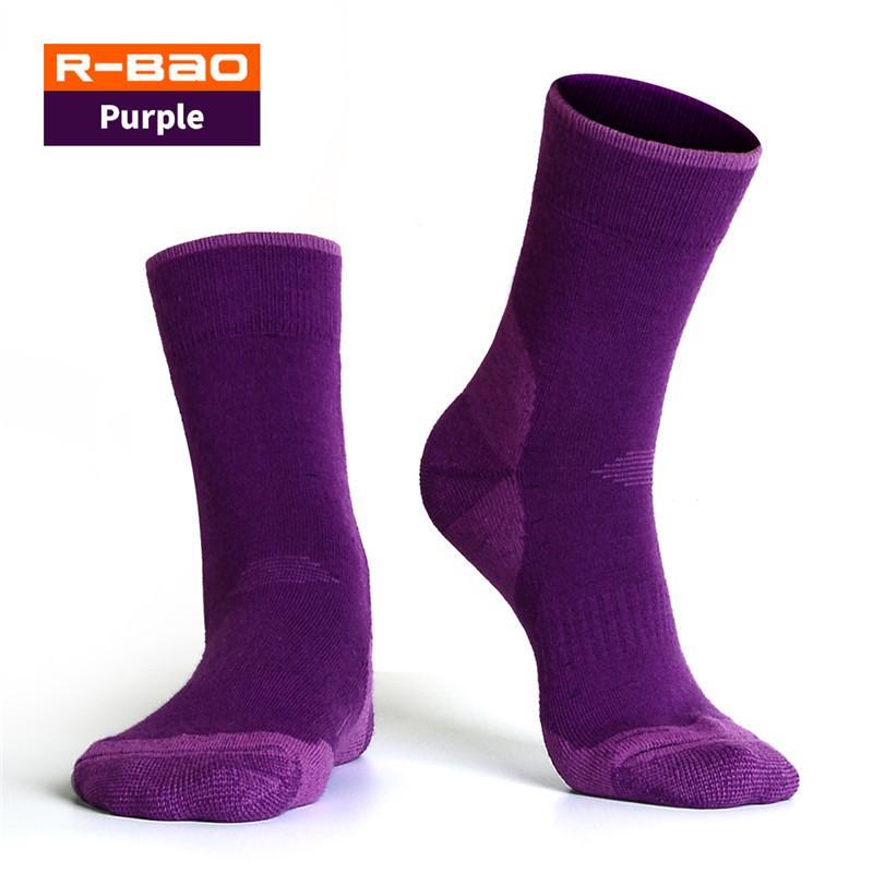 R-BAO Außen Socken Winter Thermo-Merino Wollsocken Alaska dicke warme Ski Wandern Camping-Socken Damen-M