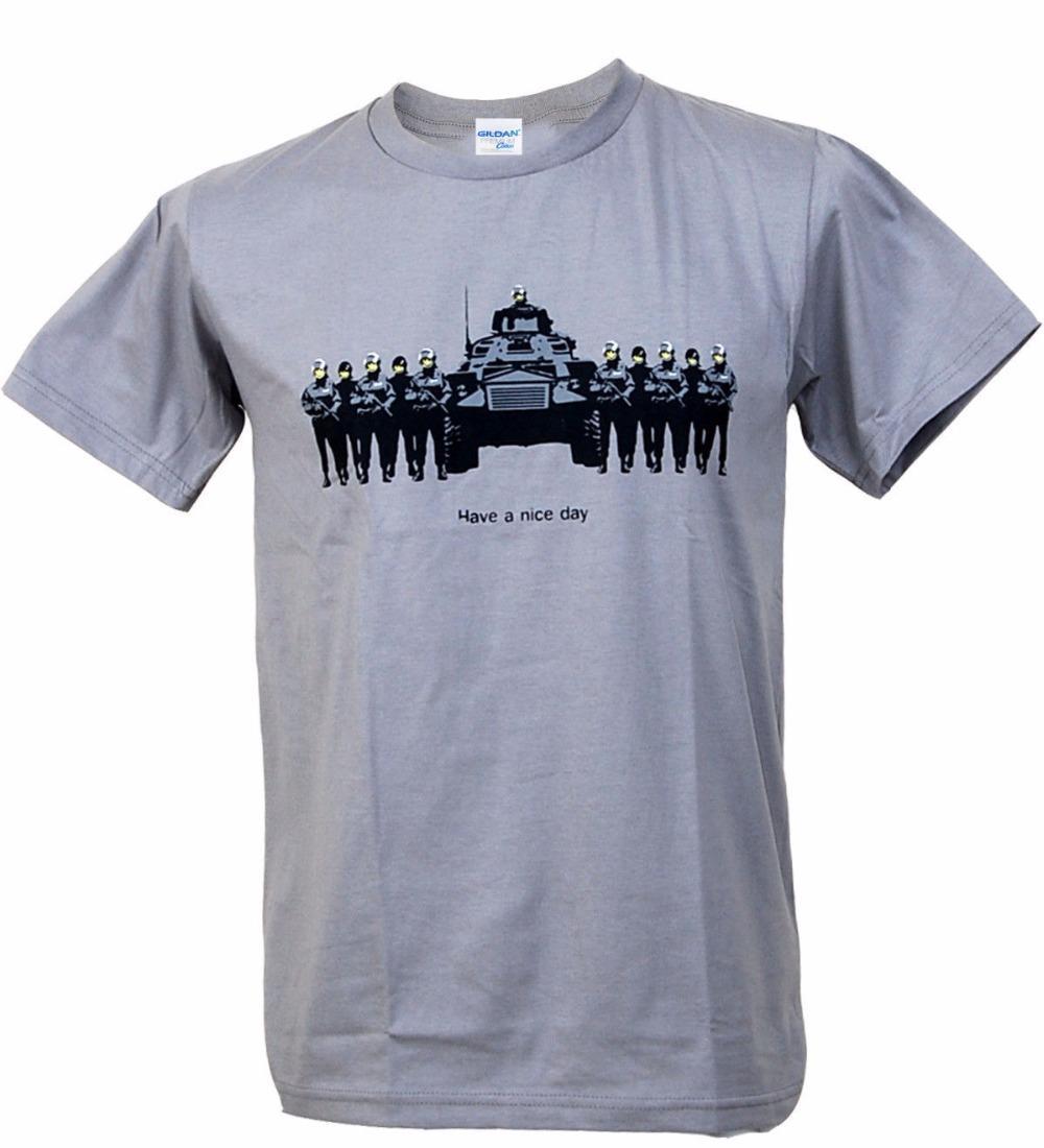 esporte 2019 Preto Moda camiseta desgaste Fashion Street Sorriso engraçado Tropa Graffiti Caras Indie T-shirt do estêncil musculação T-Shirt