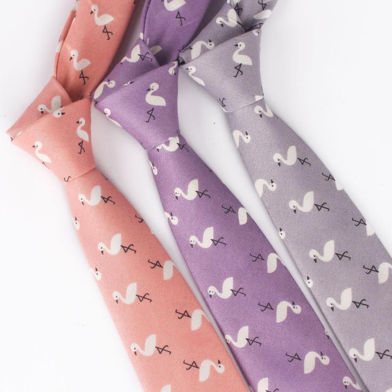 ; Inbaiway 7cm Cartoon Cravate pour hommes occasionnels main Cravat femmes Skinny cravate pour le mariage cravates Corbatas logo personnalisé