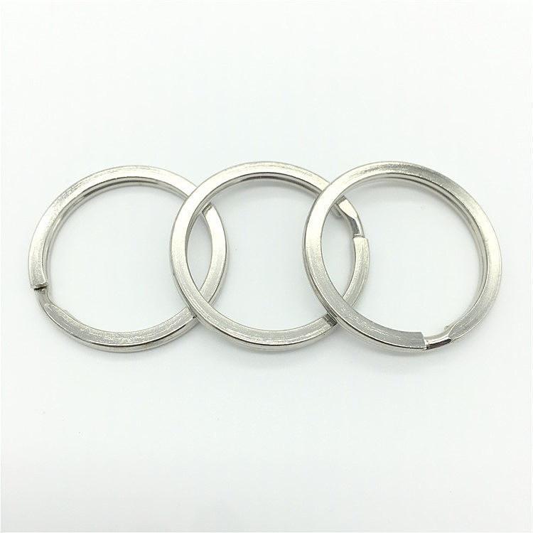 Producción profesional del anillo de llaves de acero inoxidable 304L 316L, especificaciones completas y dimensiones.