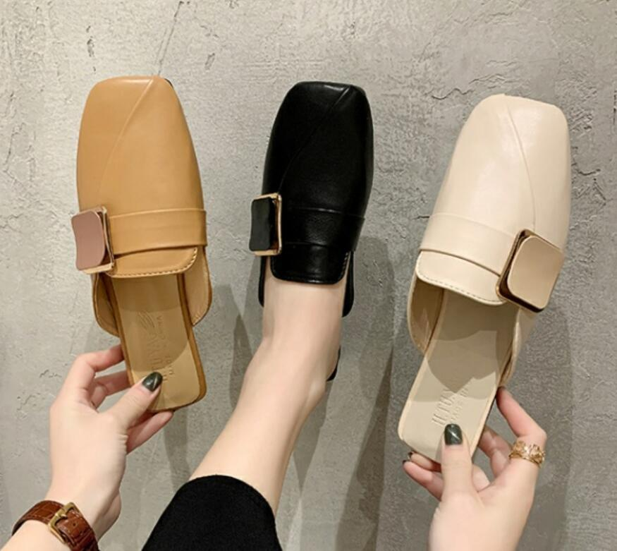 For women with American luxury wear sandals and flat loafers web celebrity shoes in spring 2021