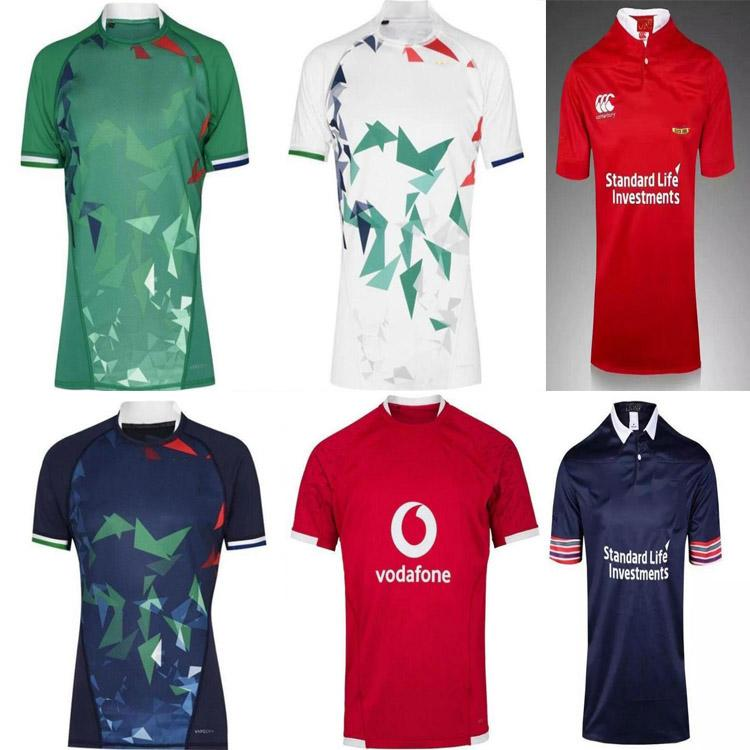 2020 2021 British Irish Lions Jersey de rugby 20 21 Lions britanniques Rugby Home Shirt Entraînement Jerseys Taille S-5XL