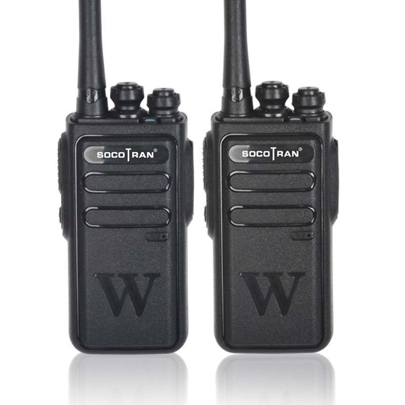 Walkie Talkie Socotran Handheld Radio portable 5W haute puissance UHF Professional Deux voies Jambon Communicator