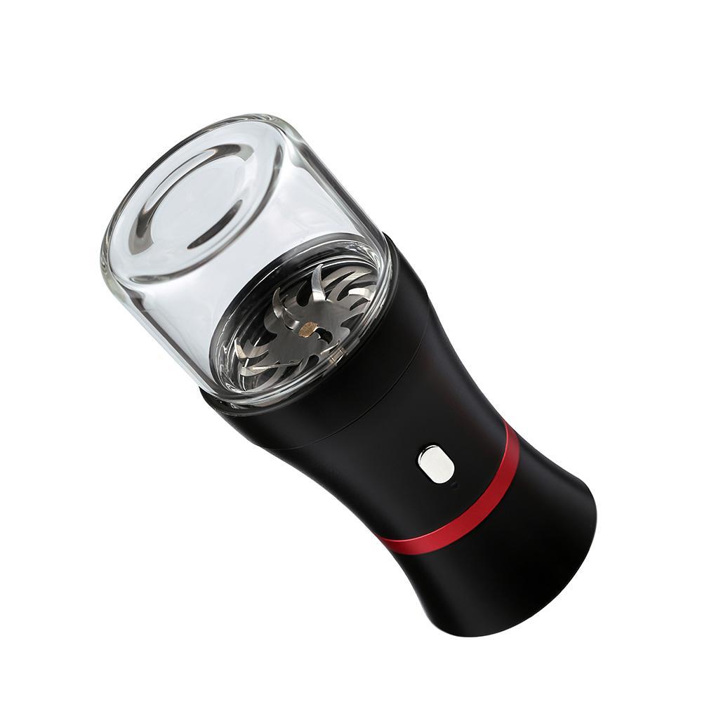Электрическая травмалка для сухого травяного пакета Vaporizer полностью автоматическая функция дробилка с USB зарядки доказательства ребенка