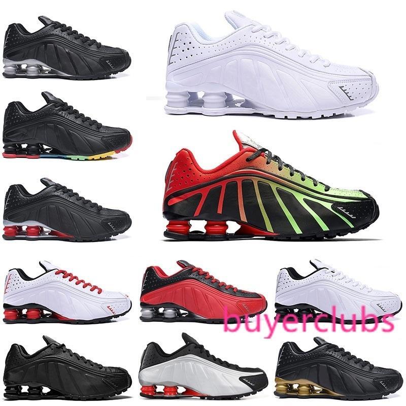Nouveau OG R4 Chaussures de course Hommes Sport Chaussures Noir Blanc Triple Défi Rouge Marine Orange Or Argent Hommes Entraîneur Taille 40-46