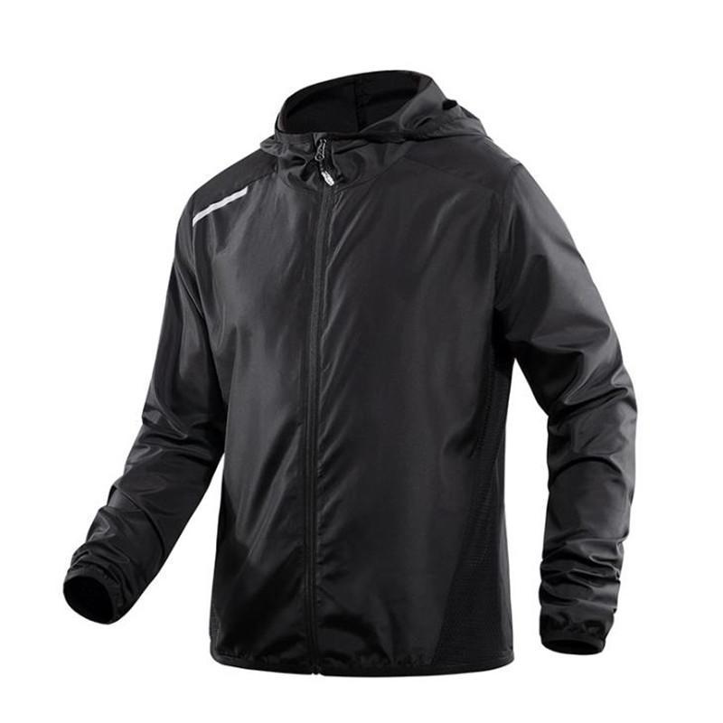 Verano ropa de protección outdoo rcoat sol ligero impermeable y transpirable sol pesca la ropa de protección chaqueta masculina