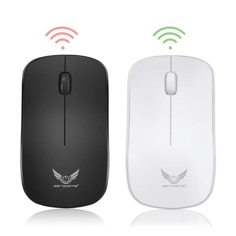 2.4G 3 Botões 1600dpi Gaming Mouse sem fio Ratos de PC computador portátil Lenovo 1600dpi de alta definição sensor óptico