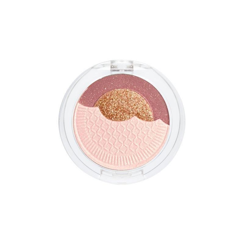 1pcs Três Cores Produtos de Harmonização Eyeshadow Palette impermeável duradoura Matte Shimmer Sombra Pallete Olhos Maquiagem Cosméticos TSLM1