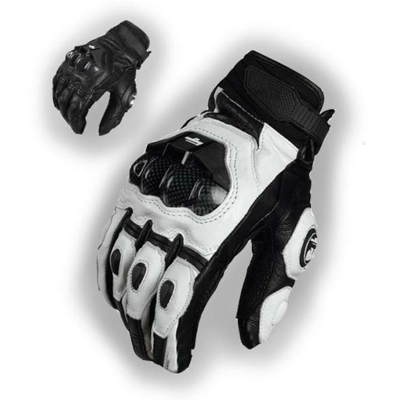 Moto in pelle 2021 corse in carbonio in fibra di carbonio in fibra moto Glove Glove Furygan AFS 6 Guanti motore