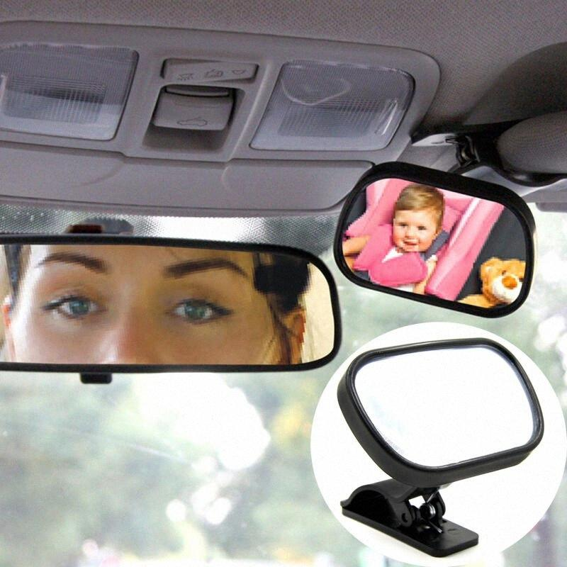 Baby Car Mirror Back Car Seat Cover For Infant Child Toddler Rear Ward Safety View With Dual Adjustable Straps eCc2#