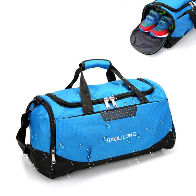 Профессиональный водонепроницаемый тренажерный зал Большой емкость Упаковка Backableffulffusffuls Works Travel Backpack Yoga 201026