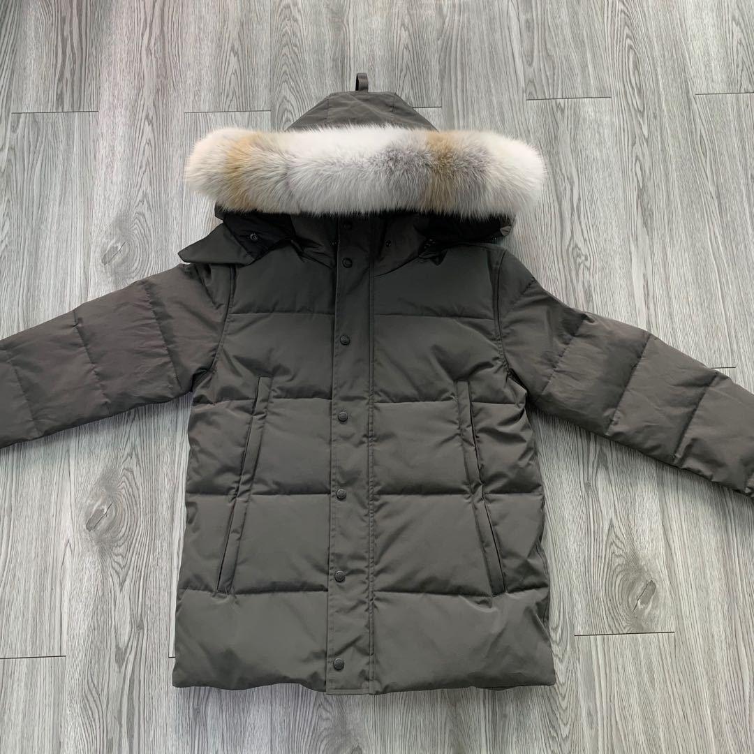 Herren sehr kalte Winterjacke Mantel Winterjacke Daunenjacke Parka Pufferjacke Mäntel Winterjacken Warme Mantel Outwear Winterjacke Norden