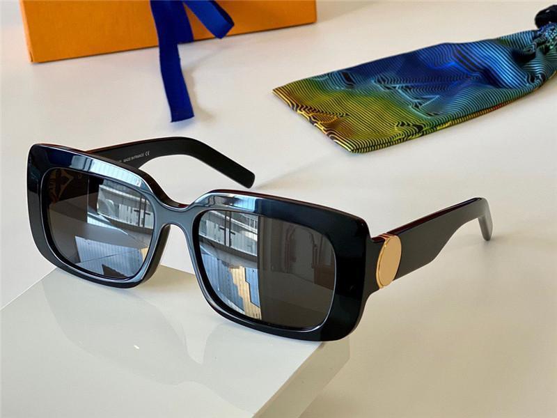 Yeni Moda Tasarım Güneş Gözlüğü Z1360 Küçük Kare Çerçeve Derin Bevel Tasarım En Kaliteli Sokak Moda Avant-Garde Stil UV400 Lens