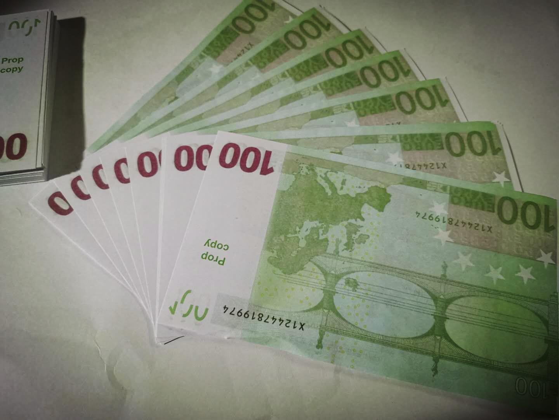Simulazione di banconote in euro moneta prop valuta fai da te per bambini prop1s valuta del gioco di euro gioco prop 665