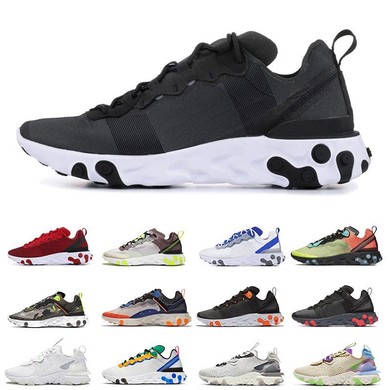 Moda Nero Bianco Reagire donne visione di tipo Chaussures elemento N354 Gore-Tex 55 87 Running Shoes Zafferano Hyper rosa all'ingrosso scarpe sportive