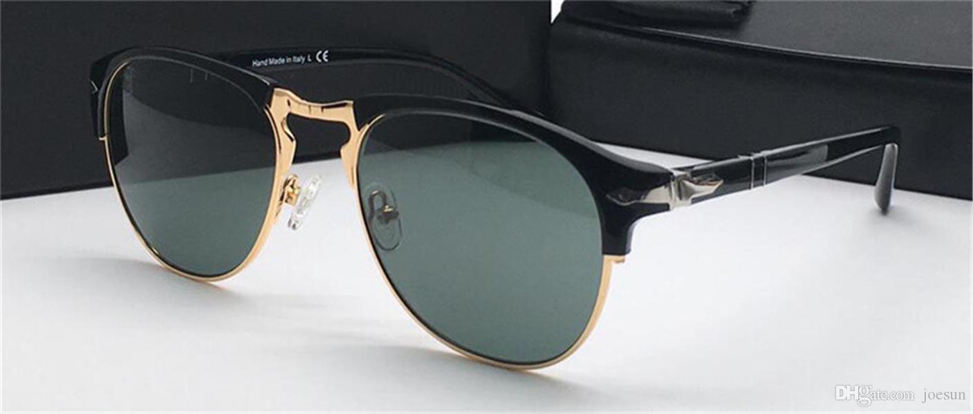 moda estilo estrutura piloto homens e mulheres de design mesmos óculos simples óculos de proteção UV ao ar livre com PE8649 caixa original