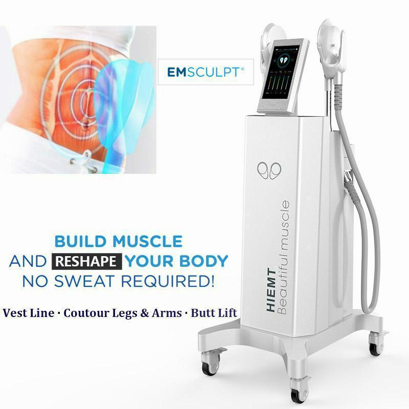 2021 News EMS Stimulateur musculateur de muscle Sculptiog Minceur Machines à entraîneur de muscle électromagnétique et appareil de beauté de réduction des graisses