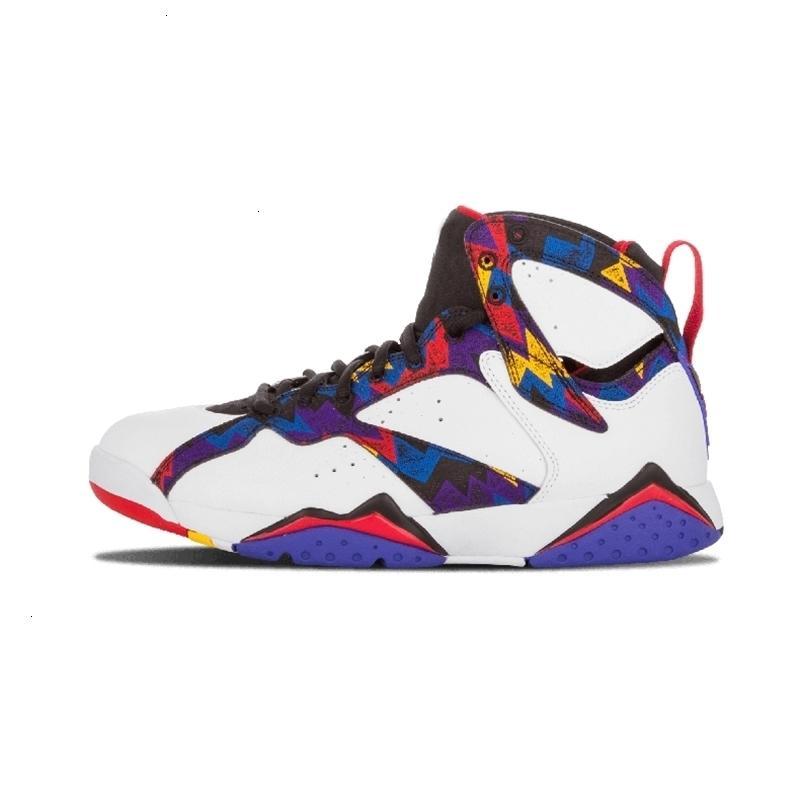 Baloncesto Unc 7 7s 2020 Hombres Mujeres púrpura Burdeos Olímpico Panton puro dinero Nada Raptor N7 Zapatos entrenador deportivo zapatillas de deporte A8lj